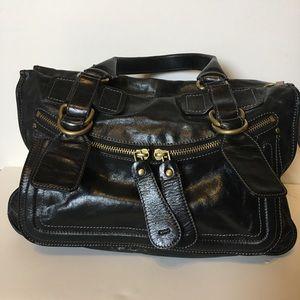 Black Chloe Bay Bag